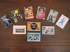 SMALL COMPACT MIRROR LOT SHIRLEY , ELVIS , MARILYN , DR. PEPPER , CRACKER JACK