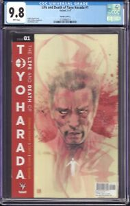 The Life and Death of Toyo Harada #1 (Valiant, 2019) CGC 9.8 Variant Cover C