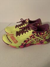 Asics Gel Noosa Fast 2 Womens Green Athletic Shoes Size 7 T459N