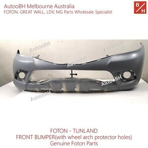 Genuine FOTON Parts TUNLAND Front bumper without wheel arch protector holes
