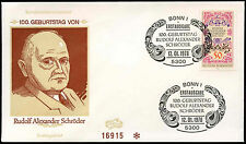 West Germany 1978 R.A. Schroder FDC First Day Cover #C29226