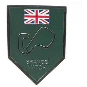 Brands Hatch Enamelled Adhesive Badge
