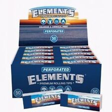 50x ELEMENTS PERFORATED ROLLING PAPER FILTER TIPS ( FULL BOX)