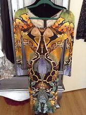 Alexander McQueen S2010 Last Collection Platos Atlantis Reptile Print Dress IT40