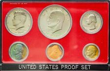 1976-S USA PROOF SET 6 COINS CHOICE UNC BU TONED STRIKING COLOR GEM (DR)