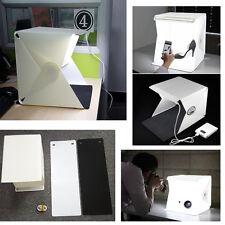 9'' Portable Recording Studio Photography Lighting Tent Kit Backdrop Cube Box