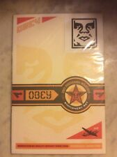 OBEY GIANT VINTAGE STATIONARY + STICKER SET | SHEPARD FAIREY | 2002