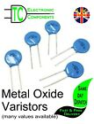 Metal Oxide Varistors (MOVs) Sold in packs of 5 Many values available  UK SELLER