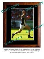 DANE SWAN 2011 COLLINGWOOD FC STAR A3 PHOTO PRINT