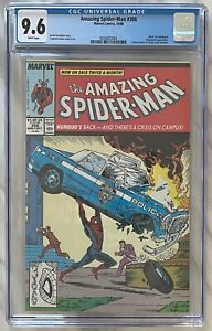 Amazing Spider-Man #306 CGC 9.6 Near Mint+ (WP) | McFarlane | Marvel Comics 1988