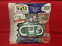 NEW! PLUG & PLAY World Poker Tour NO LIMIT TEXAS HOLD 'EM JAKKS PACIFIC TV GAME