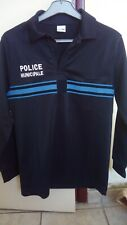 Polo manches longues Police Municipale marque ATEQ Taille L