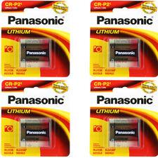 Panasonic CRP2 Lithium Photo 6 Volt Battery, 4 Pack