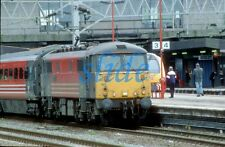 BRITISH RAIL VIRGIN ELECTRIC  LOCOMOTIVE 87020 2003 STAFFORD ORIGINAL SLIDE+COPY