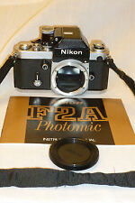 NIKON F2A Photomic 35mm SLR Film Camera w/ TYPE K focusing screen