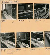 19 Photos Ecole des Chefs de Station de Métro c. 1937 Maquettes Trains - Pl 18