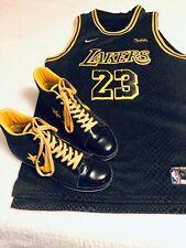 Converse Pro Leather Hi Dwayne Wade Sz13 Matches Lakers Kobe Lore Jersey Perfect