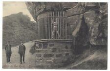 DYSART Man in the Rock, Fife, Old Postcard by Davidson, Unused