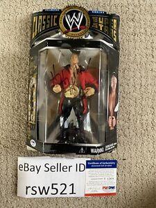 PSA DNA WWE Triple H Hunter Hearst Helmsley Signed Jakks Pacific Figure MOSC