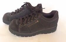 SKECHERS WOMENS SZ 8.5 9 US Leather Hiking Ankle Boot ~ Great Condition