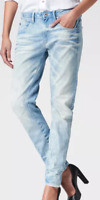 G-Star Arc 3D Low Waist Boyfriend Womens Blue Jeans W26 L32  *REF48-09