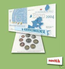 2004 Div LUSSEMBURGO 9 monete EURO luxembourg luxemburg