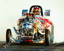 FUEL ALTERED PHOTO PURE HELL DRAG RACING BAKERSFIELD 1999 NHRA