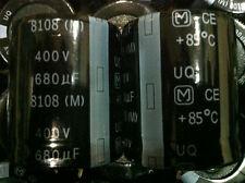2PCS X Radial Electrolytic Capacitor 400V680UF UQ 35X40 Panasonic 680uF 400v