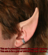 High Elf Ears Costume - Latex unpainted, elf or fairy