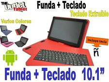 "FUNDA CON TECLADO TABLET TOSHIBA EXCITE AT10 10.1"" funda TECLADO EXTRAIBLE"