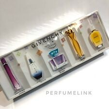 Givenchy Travel Collectoin 5 PCS SET MINIATURE Womens Perfume SEALED BOX