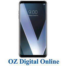 "New LG V30+ Plus Dual Sim H930 4G 16MP 128GB 6"" Silver Unlocked Phone 1 Year Wty"