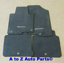 NEW 2015-2017 Hyundai Sonata FRONT & REAR set of Carpeted Floor Mats,OEM Hyundai