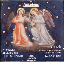 Vivaldi. Gloria RV 589 - Bach. Concerti per organo BWV 593, 594 - CD Amadeus