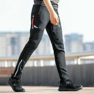 Cycling Pants Spring Summer Breathable Hight Elasticity Sport Reflective Trouser