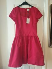 Reiss Christmas Red Dress Size 10 Bnwt Cost £169