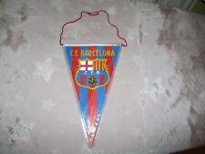 """FC Barcelona Original 70iger Jahre Wimpel """"C.F. Barcelona Wappen"""" Neu"""