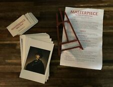 Masterpiece The Classic Art Auction Board Game Replacement Part Pieces Lot