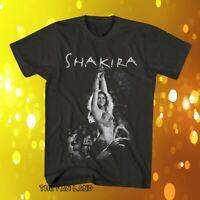 New Shakira Classic Mens Vintage T-Shirt