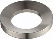 """New - Kraus Mr-1Sn Satin Nickel 3.2"""" x 0.5"""" H Mounting Ring"""