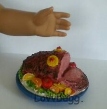 Amazing Ham Platter for 18 inch American Girl Doll Food BY LOVVBUGG!
