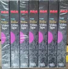 7 RCA VHS Tapes: T-120 - New Blank VHS Tapes