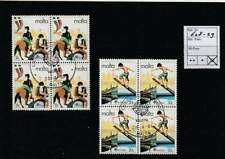 Europa Cept gestempeld block 1981 used - Malta 628-629 (137)