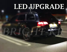 AUDI A4 A6 B7 NUMBER PLATE LED LIGHT BULBS CANBUS - XENON COOL WHITE