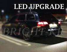 AUDI A3 A4 A6 Número De Matrícula Xenon Blanco 7000K LED Bombillas De Luz-error Actualización Gratis