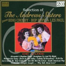 The Andrew Sisters - Selection of Andrew Sisters / 2-CD / NEU+OVP-SEALED!