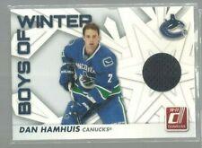 2010-11 Donruss Boys of Winter Threads #28 Dan Hamhuis (ref49060)