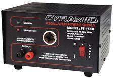 Pyramid PS15K 10 Amp Power Supply w/Cigarette Lighter Plug