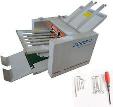 Folding Plates Auto Folding Machine Paper Folder Machine Bindery Equipment 110v