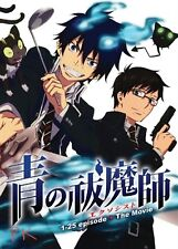 English Version ~ Ao No Blue Exorcist (Chapter 1 - 25 End + Movie) ~ 3-DVD SET ~
